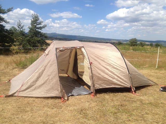 Bivouac pleine nature tout compris tente+ 3repas ! - Montaigut-le-Blanc - Tent