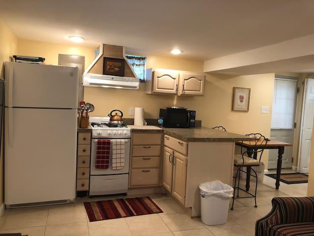 Cozy private basement guest suite