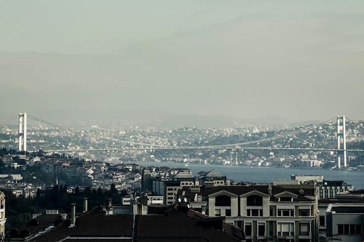 İstanbul taksim merkezinde lüks Residence