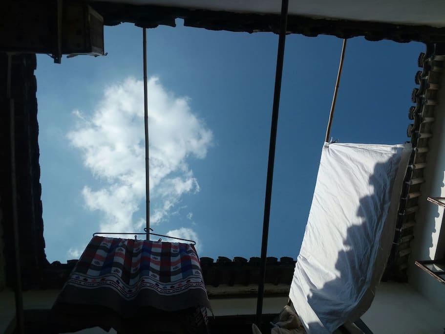 四合院能看到一方天空