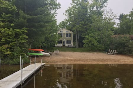 6 Bedroom Lakefront with Sandy Beach