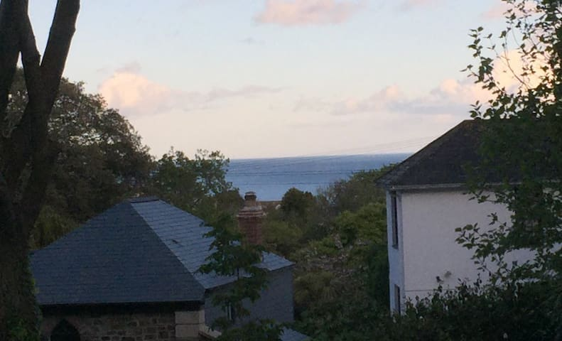 Spacious Georgian Flat near beaches - Falmouth - Apartament