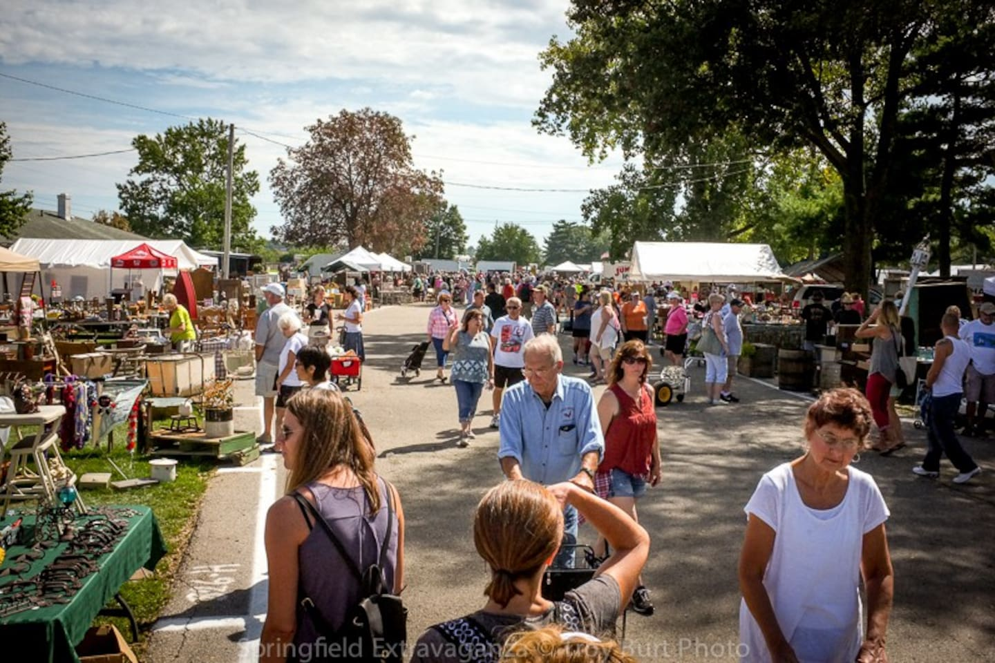 Springfield Antique Show & Flea Market, 15 minutes from our house. June 16-17 , August 18-19, September 14-16 (Extravaganza), October 20-21, November 17-18