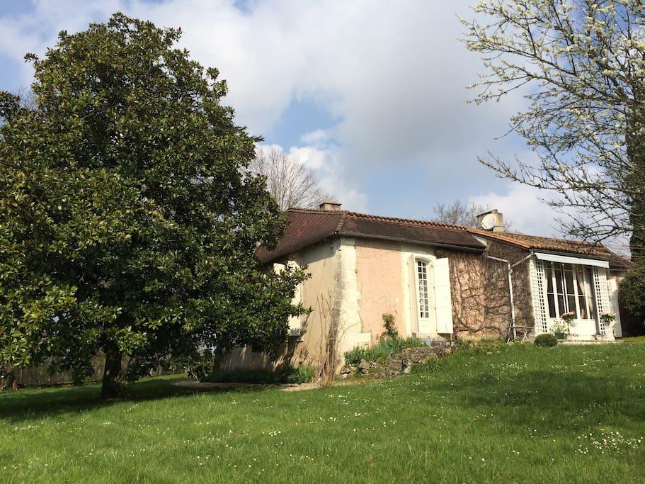House (garden side)