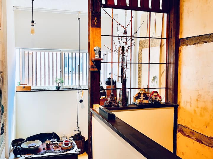 Traditional Japanese style room,8 mins by subway