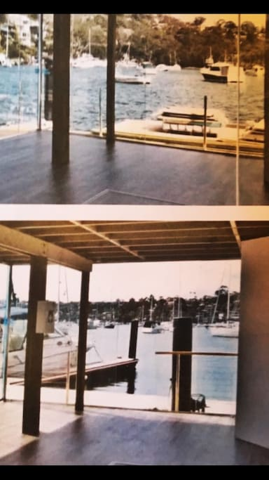 Internally- Panoramic views Floating Floorboards throughout