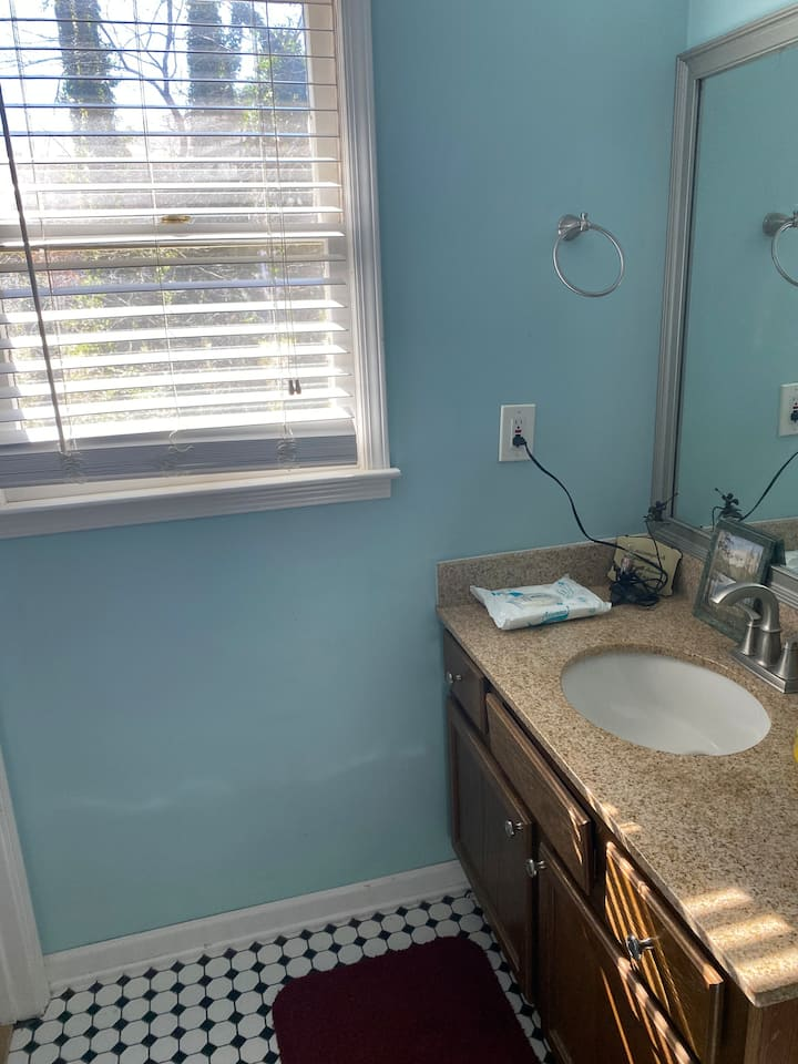 Private bedroom and private bathroom for rent