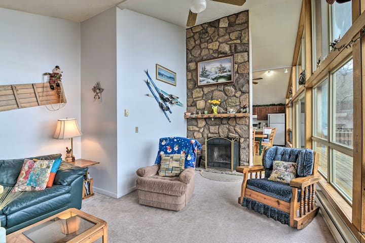 NEW! Blue Knob Family Home w/Views: Ski-In Ski-Out