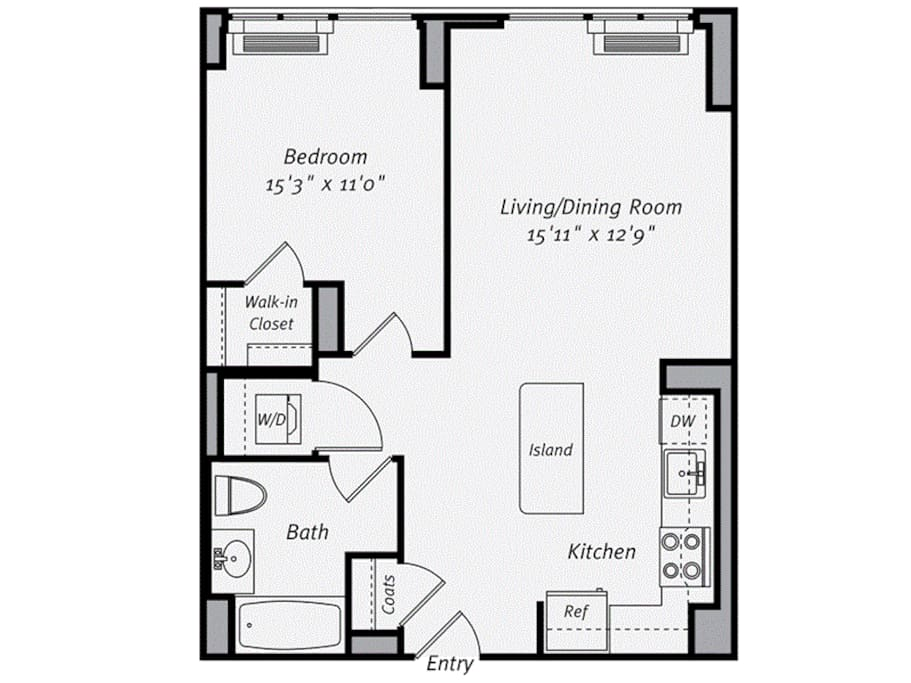 Luxury 1br Apt W 1 Queen Size Bed And 1 Airbed