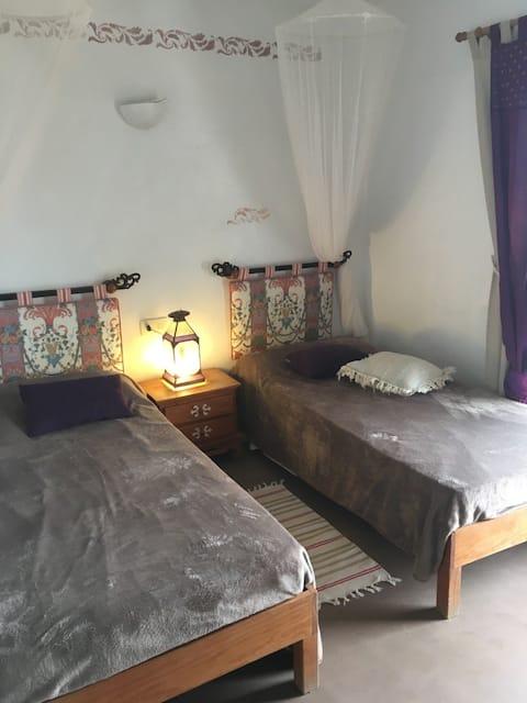 Oceanfront apartment near Es Pujols