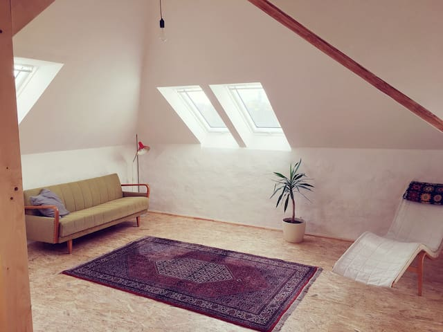Attic Apartment in Südstadt
