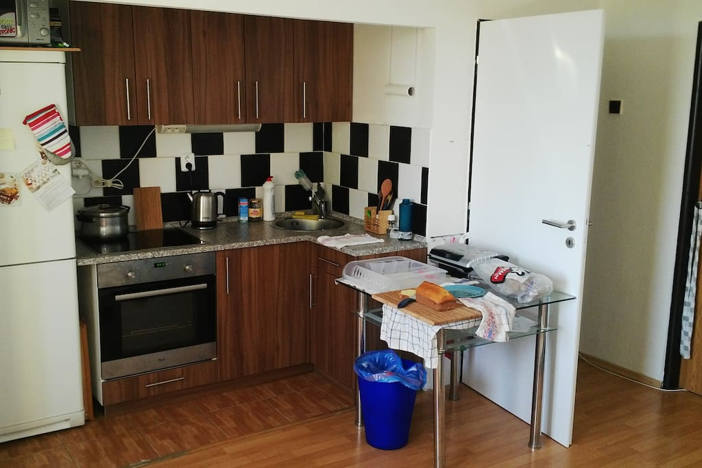 shared kitchen, fully equipped where you can prepare lunch for you