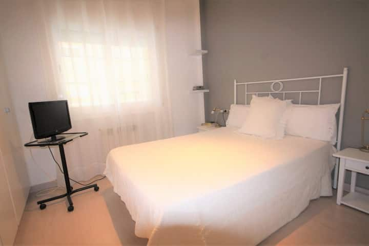 Comfortable room double bed