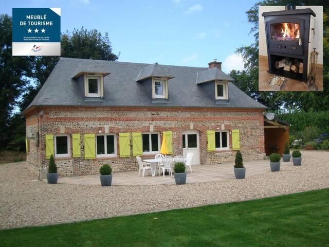 Les Châtaigniers - Normandie - Fécamp - 3 chambres