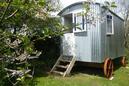 Cornish Shepherds Hut in beautiful West Cornwall - Saint Buryan