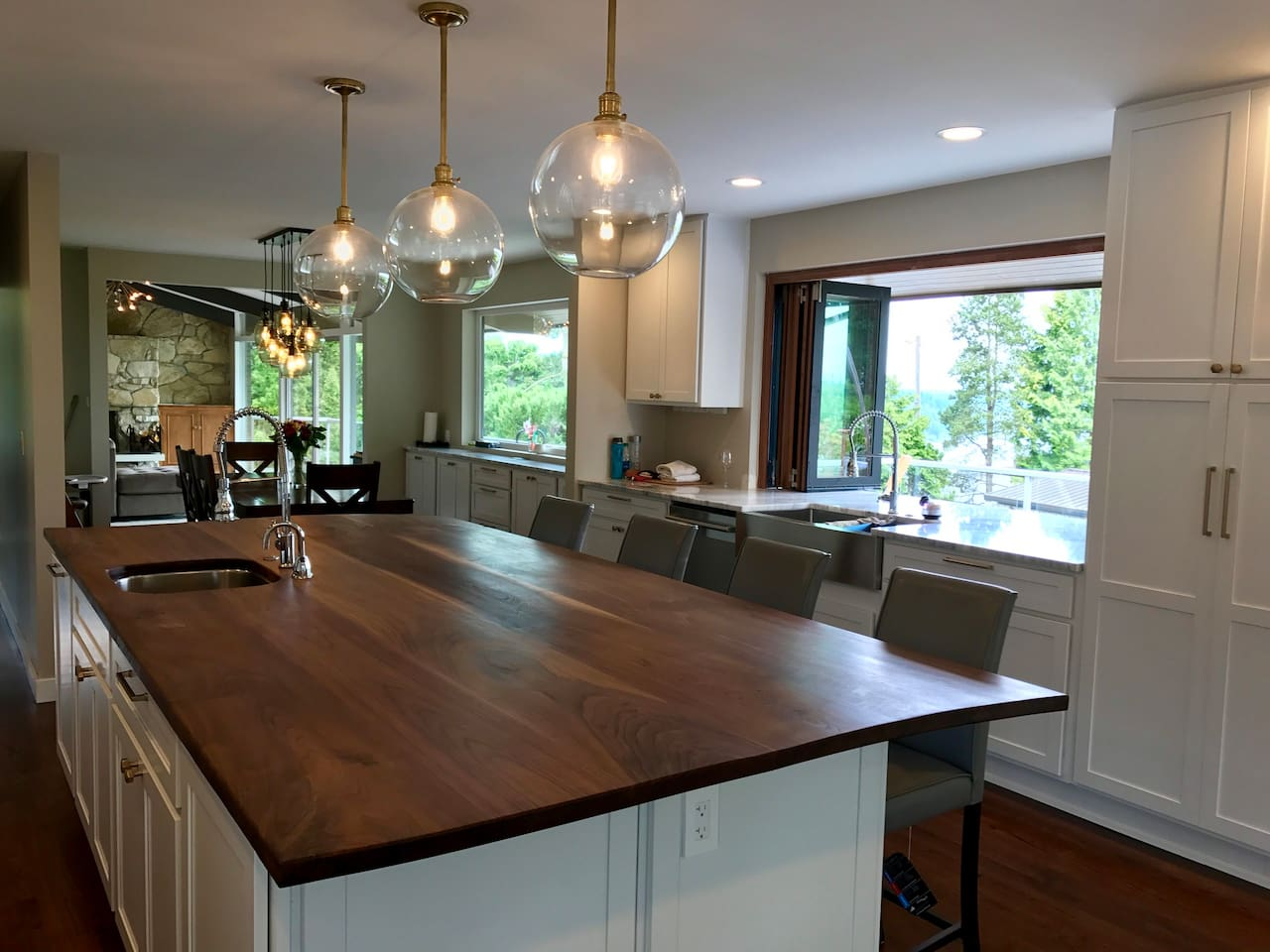 Masterpiece kitchen for your special vacation
