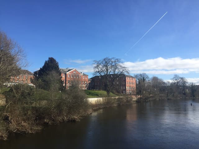 Wye Way, Hereford. Wifi! - Hereford - Apartemen