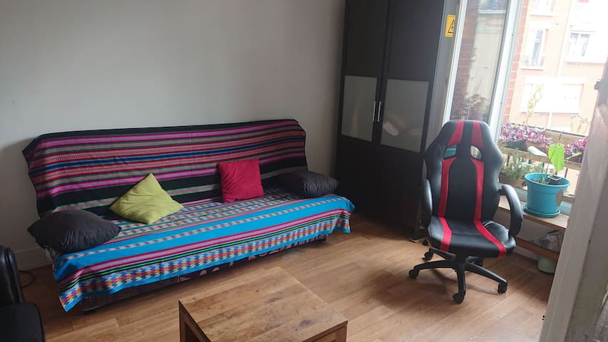 Appartement entier lumineux et très bien situé