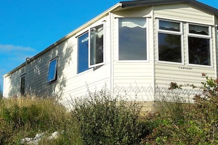 Self catering Mobile home with stunning views
