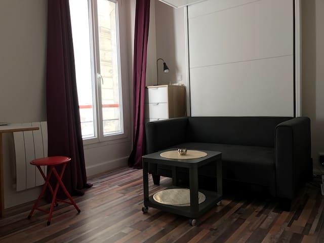 Cozy studio Heart of Paris BASTILLE ROQUETTE