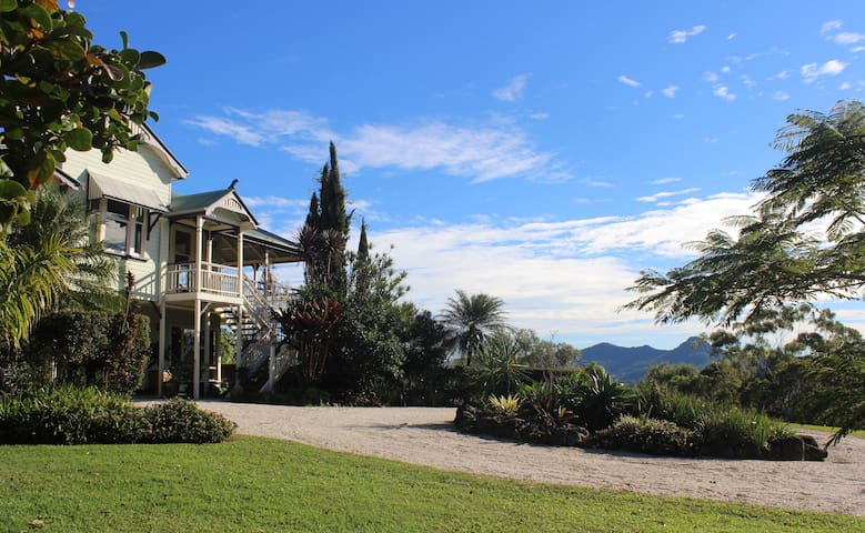 Country Castle, Byron Hinterland - Myocum - Casa
