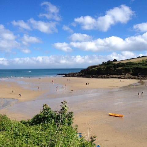 Sunny,ground floor flat(no smoking),close to beach - Cornwall - Daire