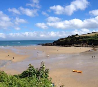 Sunny,ground floor flat(no smoking),close to beach - Cornwall