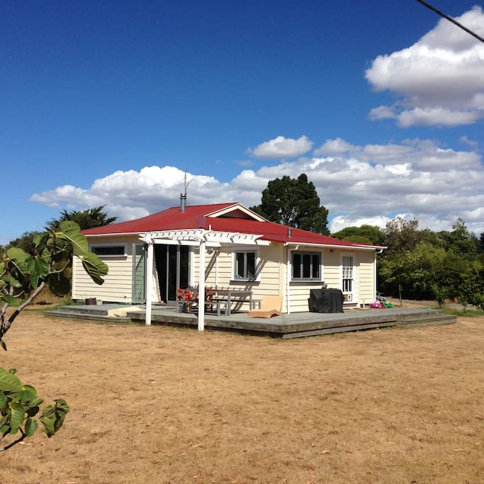 Did you know our house was moved over the Rimutaka Hill on a truck? it was going to be demolished so we bought it, moved it and then renovated it.