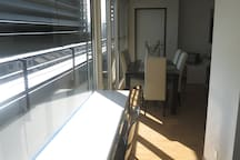 Light, double, private shower room, central Zug