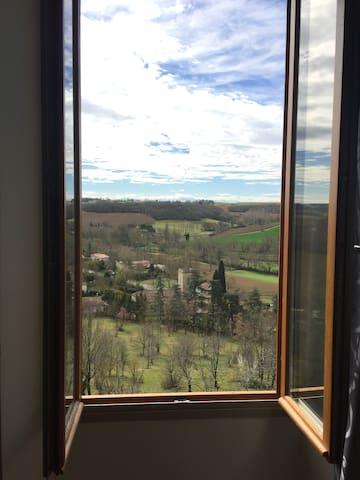 Vue panoramique au coeur du Gers - Saint-Lary - Casa