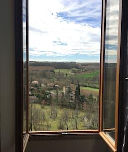 Vue panoramique au coeur du Gers - Saint-Lary