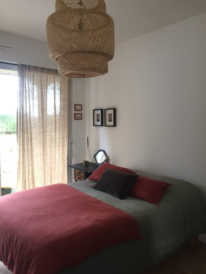 Une chambre à la campagne
