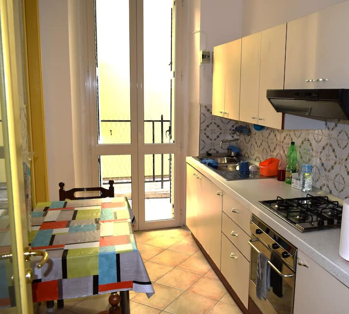 Large Apartment 40 meters from the beach
