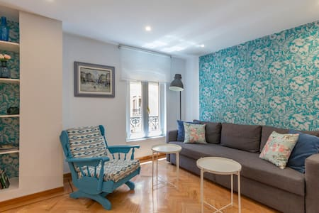 Sol & Gran Via: quiet and fully renovated. AC