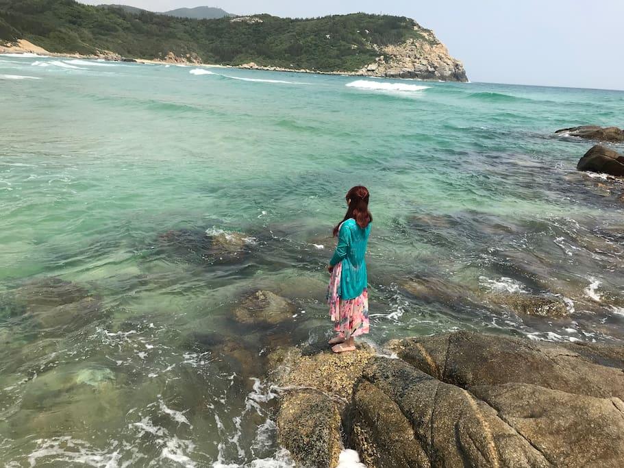 不容易被发现的美丽海滩