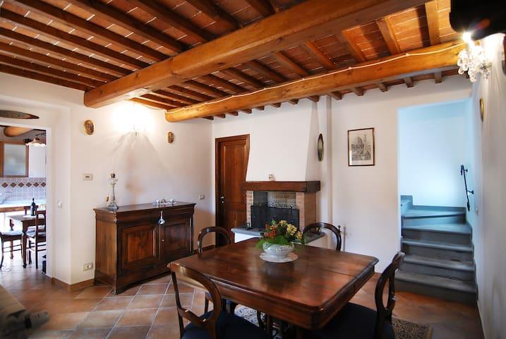 Borgo la Ghiffia camera matrimoniale - Migliana - Prázdninový dům