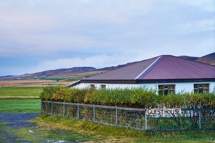 4#Family room in a cosy farmhouse