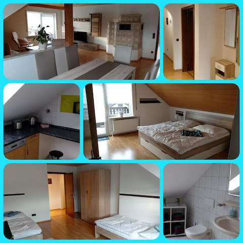 100 m² Ferienwohnung in Ebermannsdorf