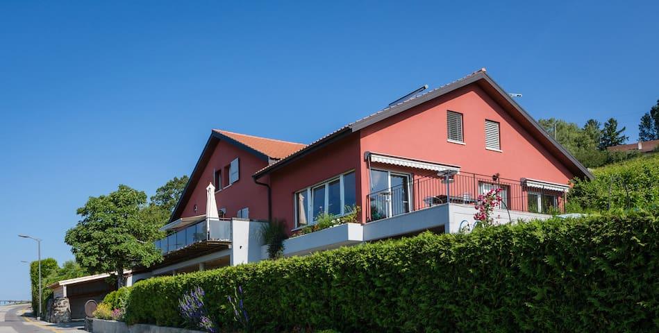 """Studio dans maison vigneronne lavaux """"UNESCO"""""""