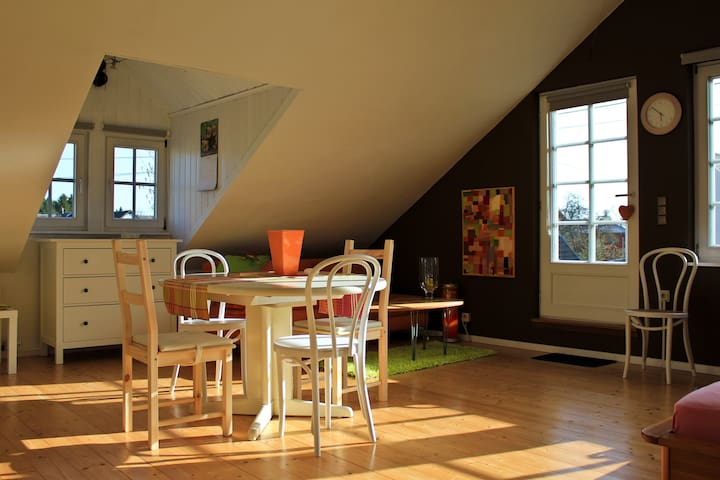 Schlafzimmer 1 / Wohnbereich