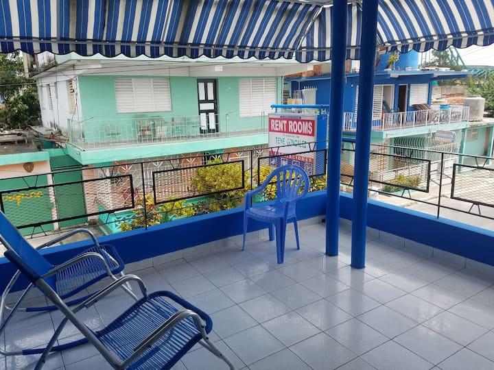 El balcón de René González