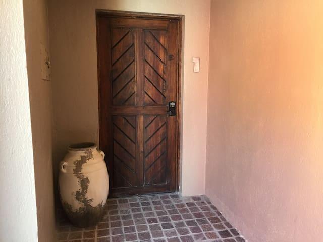 From door