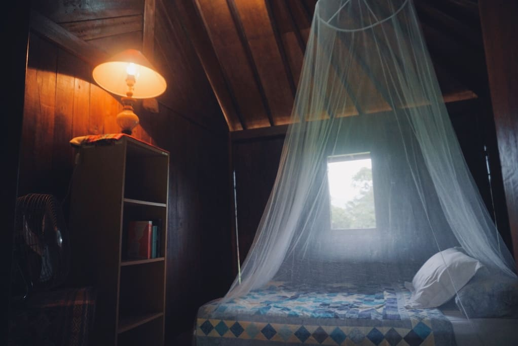 Simple room perfect for backpackers