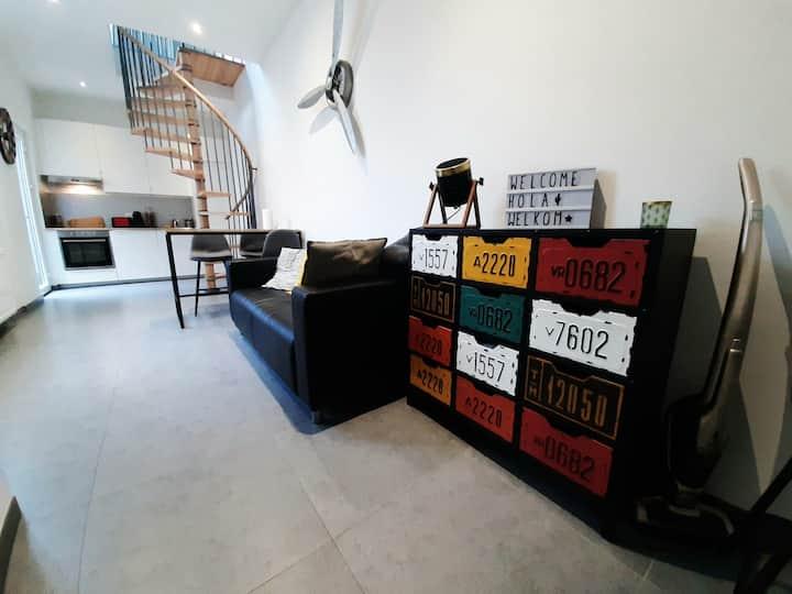 Duplex moderne au cœur de la Cité Ardente