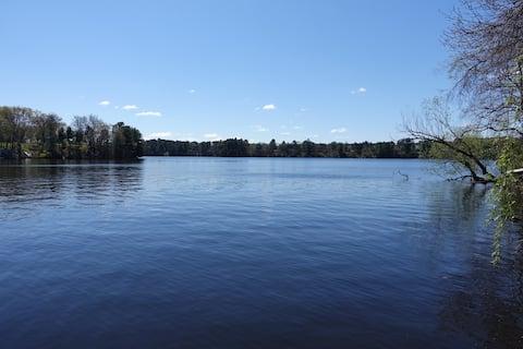 Dom pri jazere Wissota