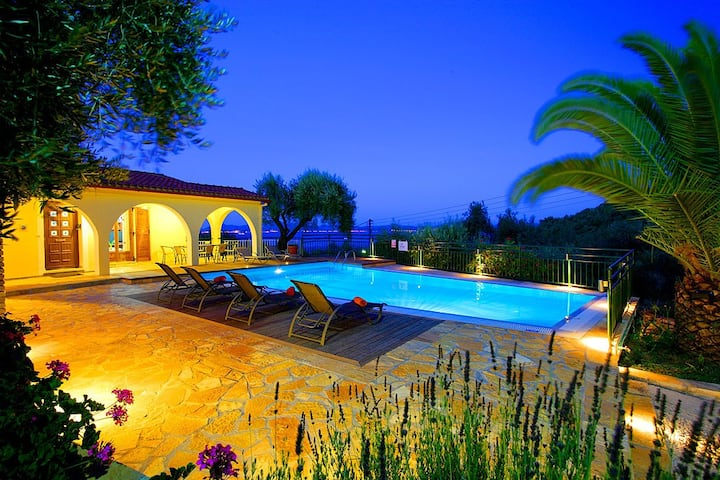 Villa Nitsa: Signature Villa in exquisite Northeastern Corfu, Greece