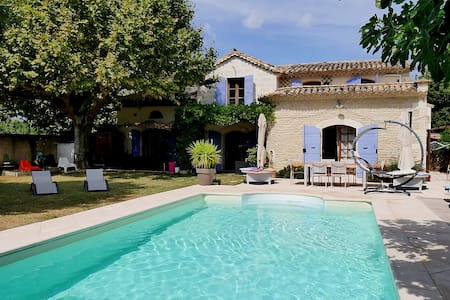 Traditional provencal house, near Avignon - Rognonas - Casa