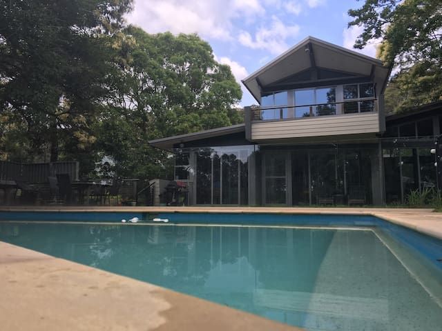 Pittwater - designer home &  pool - Church Point