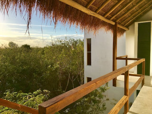 beautiful  apartment in middle of the jungle - Tulum - Byt
