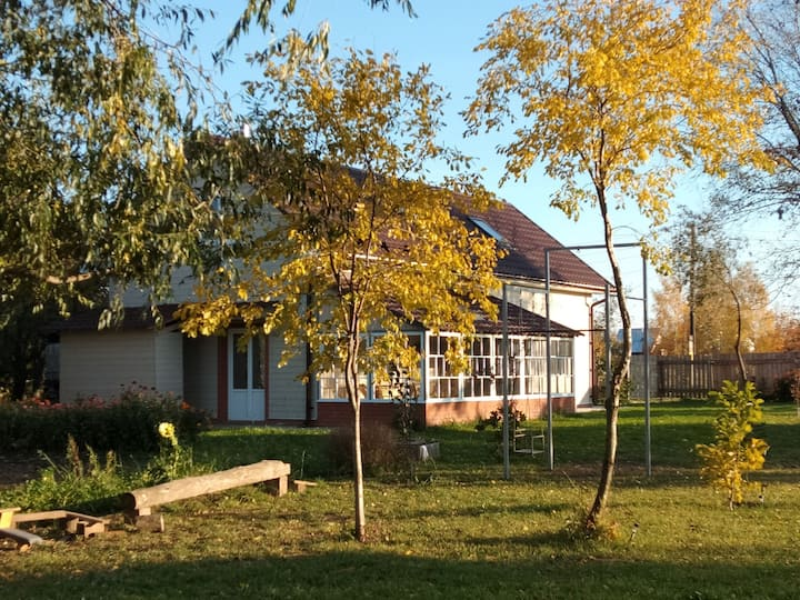 Гостевой дом в деревне Подлуг